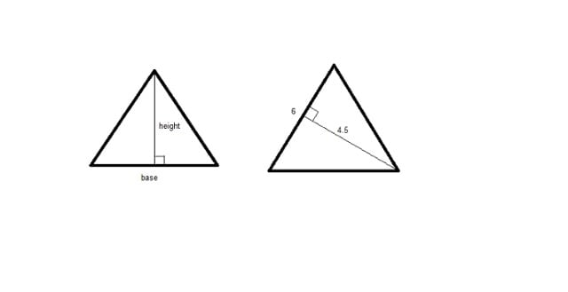 two triangles