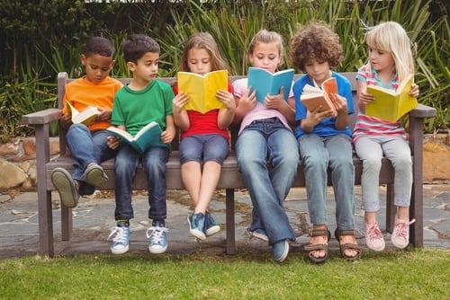 children reading common core standards