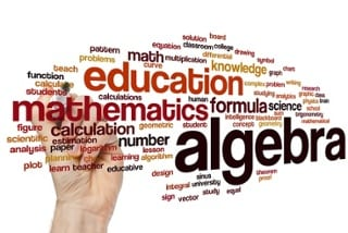 word cloud algebra