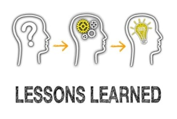 lessons learned brain map