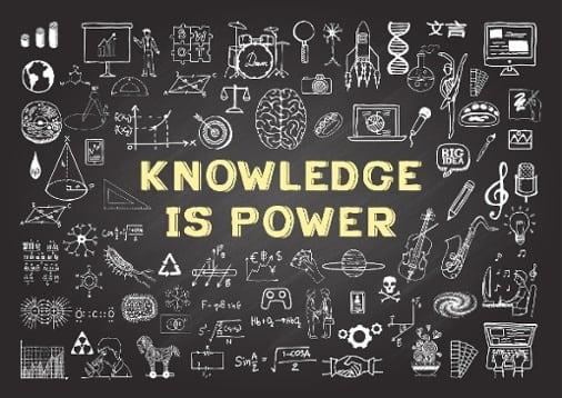 Knowledge is Power on blackboard