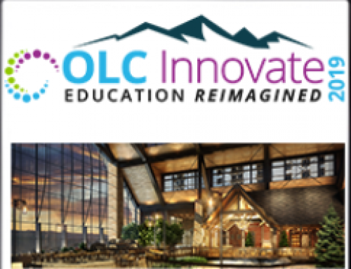 April 2-5, 2019 A Pass at OLC Innovate
