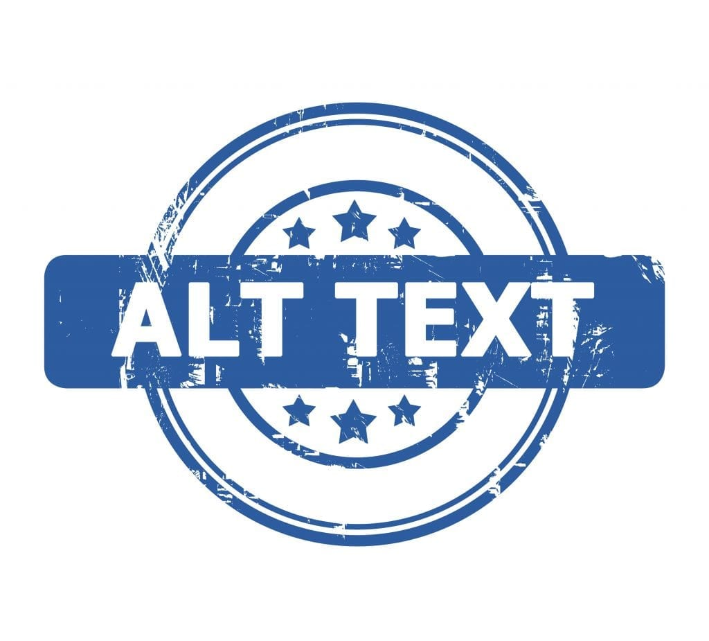 alt text logo in blue with stars